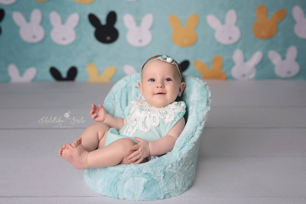 Kate Rabbits Easter Backdrop for Photography designed by Jerry_Sina