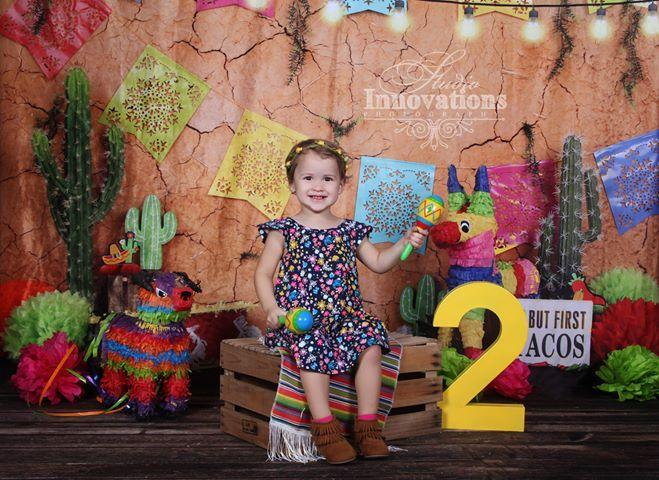 Kate Children's Playground Cinco de Mayo Party Backdrop for Photography  Studios