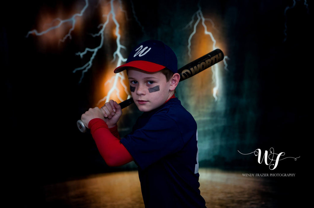 Kate Dark Sky Road Backdrop for Sports Photography designed by Jerry_Sina