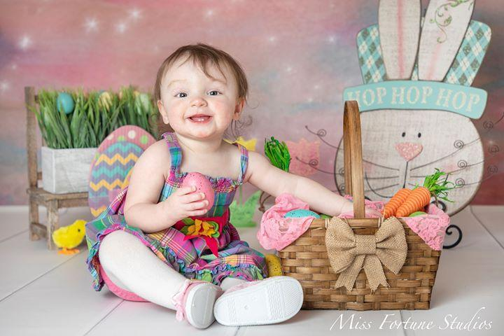 Load image into Gallery viewer, Kate Pacifier Orange Stars Backdrop for Photography Designed by Mini MakeBelieve