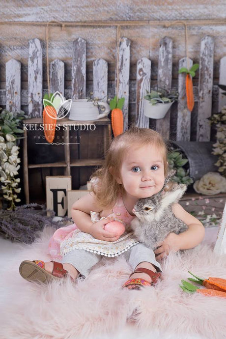 Kate Children Vintage Spring Veranda backdrop designed by Arica Kirby