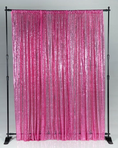 Kate Pink Sequin Backdrop Fabric Background for Children Party Backdrops