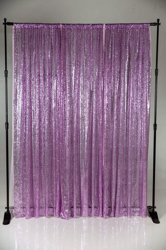 Kate Purple Photography Background Sequin Cloth Photo Backdrop