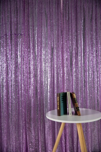 Load image into Gallery viewer, Kate Purple Photography Background Sequin Cloth Photo Backdrop