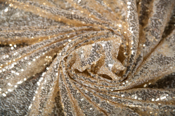 Kate Light Gold Sequin Fabric Backdrop for Photography - Kate backdrop UK