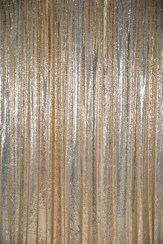 Load image into Gallery viewer, Kate Light Gold Sequin Fabric Backdrop for Photography - Kate backdrop UK