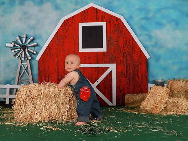 Load image into Gallery viewer, Kate Barnyard Fun Children Summer Backdrops Designed by Arica Kirby