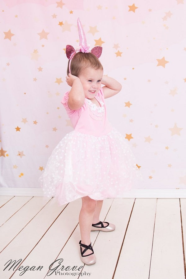 Load image into Gallery viewer, Kate Pink Dream Stars Children Backdrop Designed by JFCC