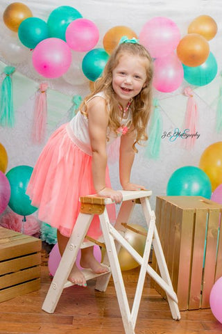 Kate Minty Fresh Celebrations Backdrop for Children Photography Designed By Tyna Renner