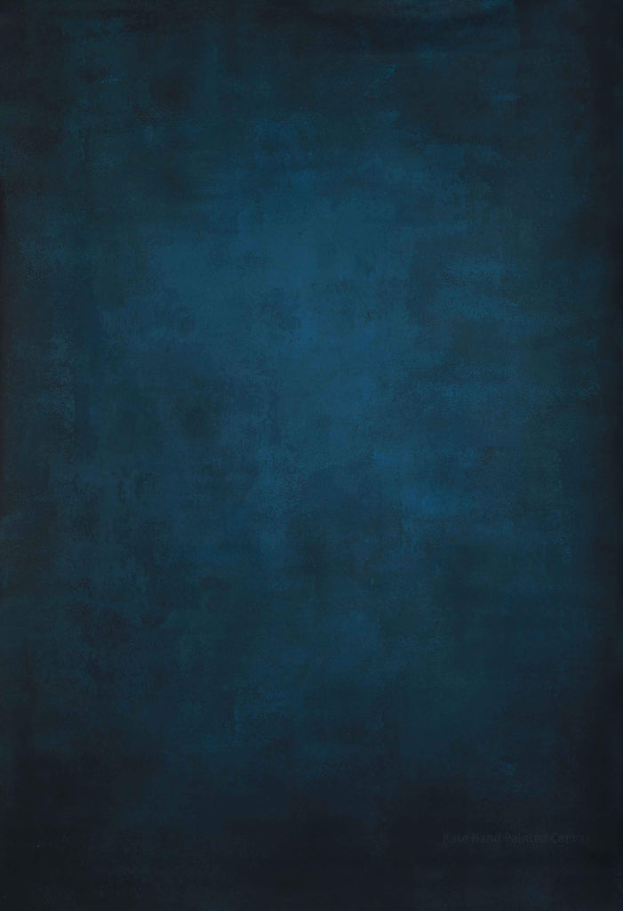 Kate Blue Color Abstract Texture Spray Painted Backdrops - Kate backdrops UK