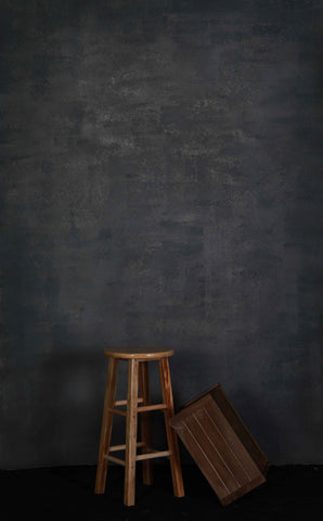 Kate Dark Gray Color Spray Painted Abstract Texture Backdrop