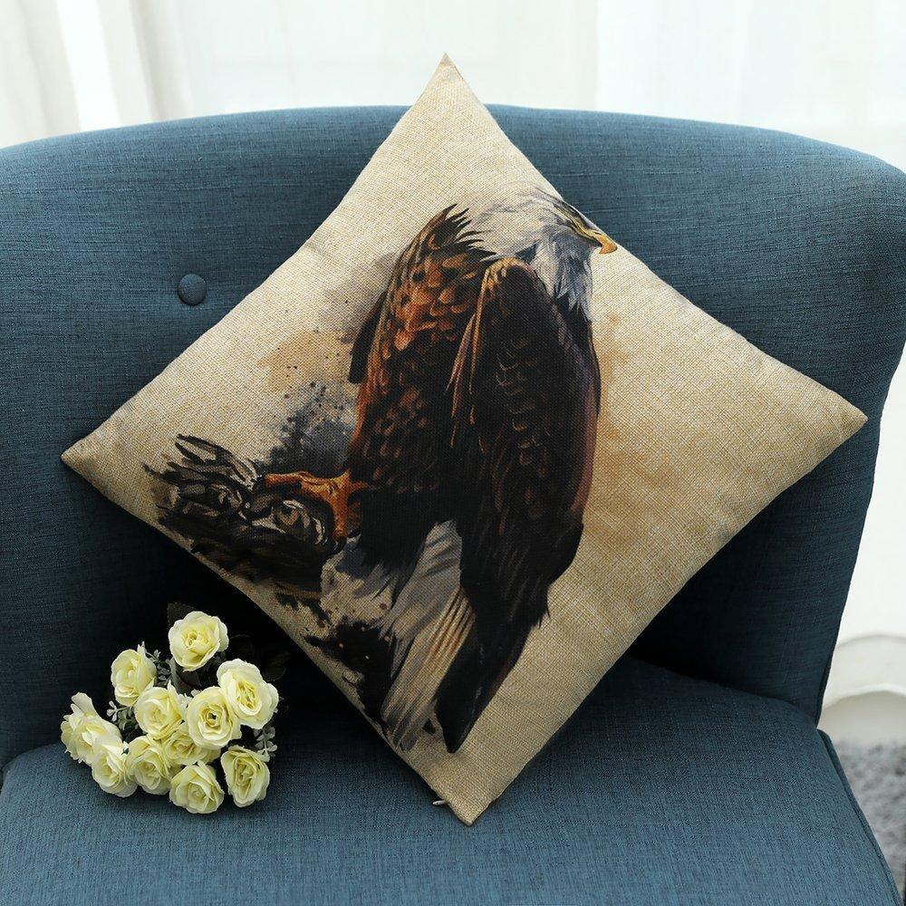 Load image into Gallery viewer, Kate 4 Packs Animal Pattern Pillow Cushion Cases 18 x 18 Inches - Kate backdrops UK