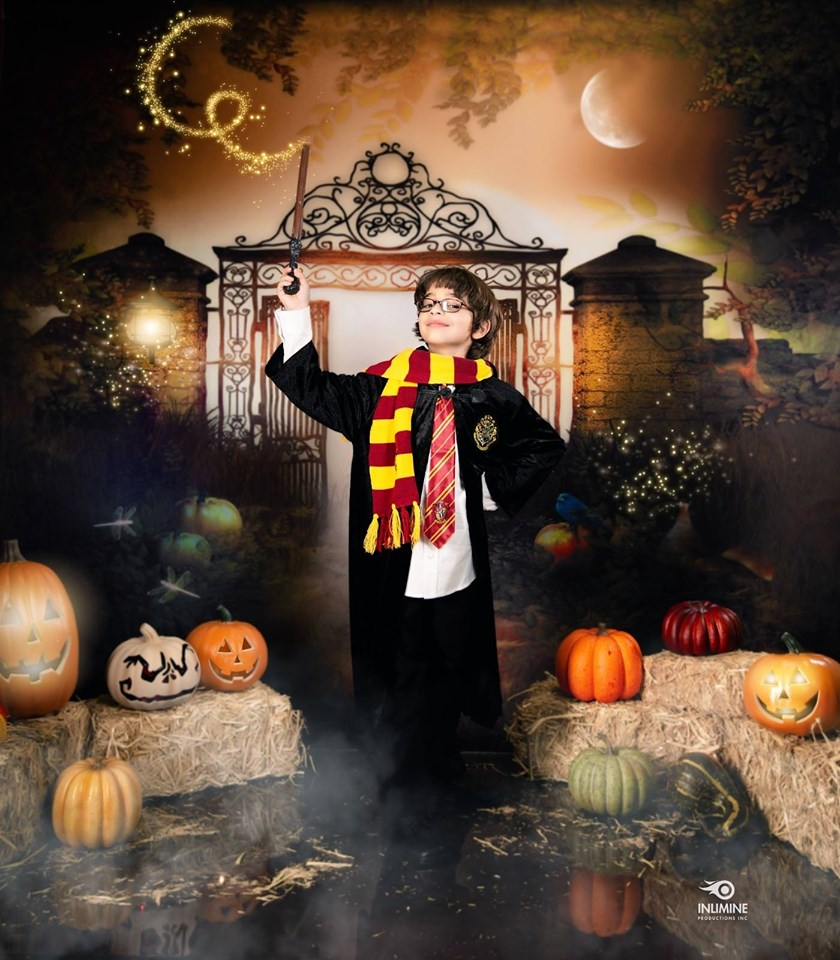 Kate Halloween Fantasy Haunted house Backdrop Background for photography
