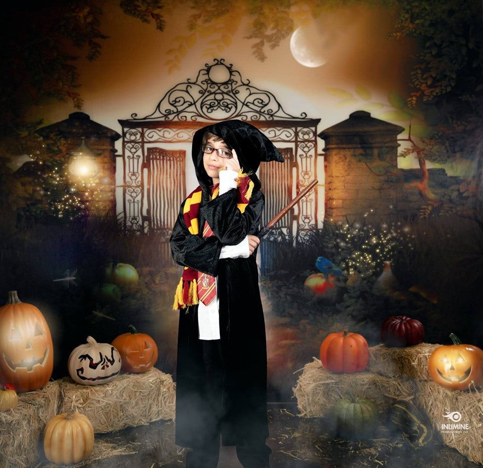 Load image into Gallery viewer, Kate Halloween Fantasy Haunted house Backdrop Background for photography