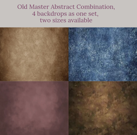 Old Master Abstract combination backdrops