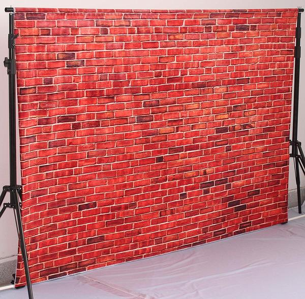Load image into Gallery viewer, Kate Red Brick Wall Photography Backdrop Vintage Decoration Photo Background