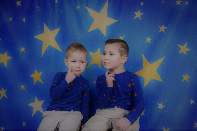 Kate Baby Skies Shiny Stars Backdrop for Photography Designed by Mini MakeBelieve - Kate backdrops UK