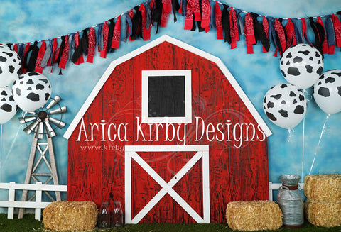 Kate Barnyard Fun Balloons Children Backdrops Designed by Arica Kirby
