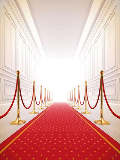 Katebackdrop:Kate Red Carpet White Indoor Backdrop For Photography