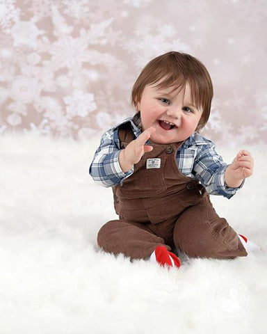 Kate Bokeh snowflake Background Children Holiday Christmas Photography Backdrop - Kate backdrops UK