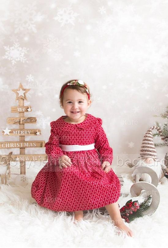 Load image into Gallery viewer, Kate Bokeh snowflake Background Children Holiday Christmas Photography Backdrop - Kate backdrops UK