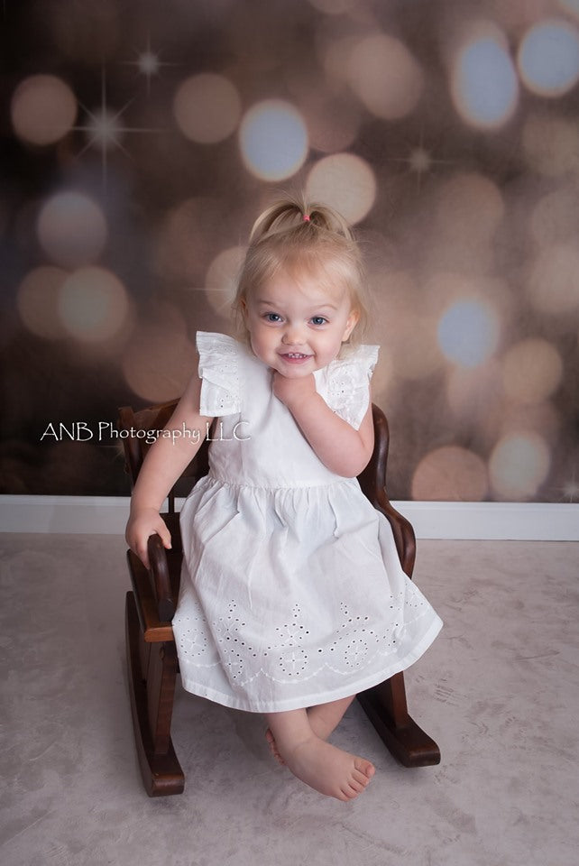 Load image into Gallery viewer, Kate Children Grey Light Spot Glitter Shiny Photography Backdrops