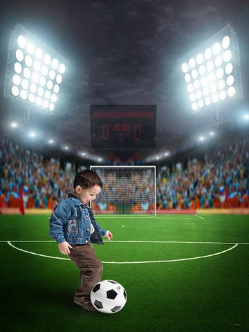 Katebackdrop:Kate Football Match Sports Field Backdrop