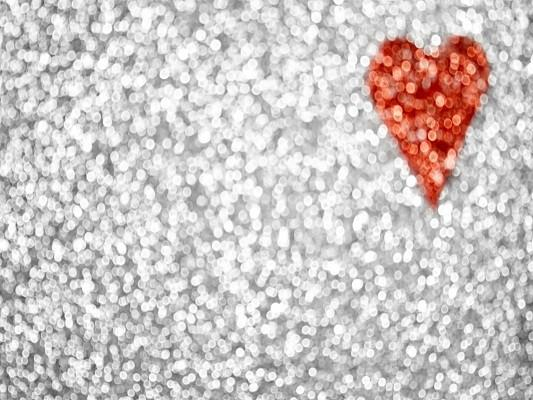 Katebackdrop£ºKate Sliver Glitter Backdrop Wall Red Heart Decoration For Party Photography