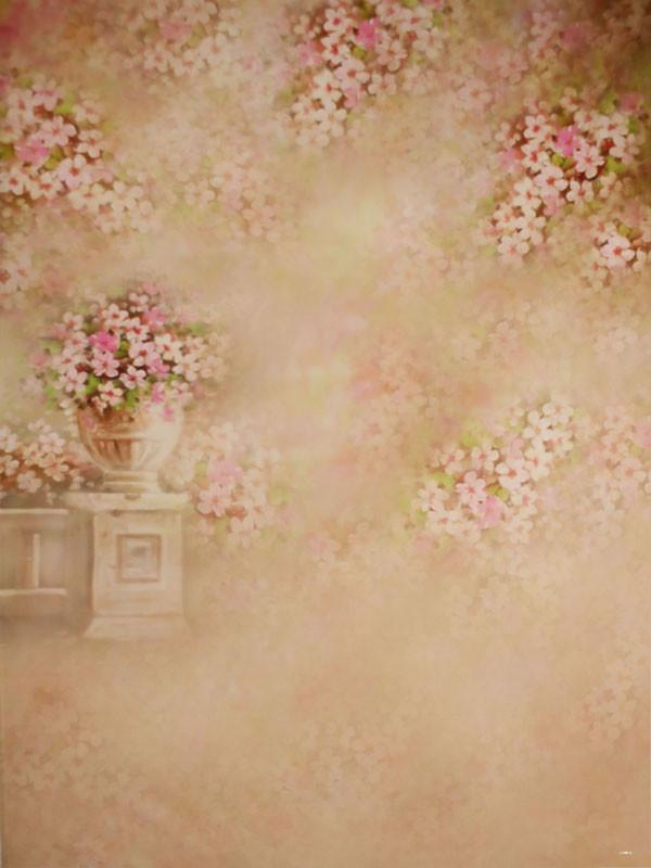 Load image into Gallery viewer, Kate Brown Retro Flowers Backdrop Vintage Photography Background - Kate backdrops UK
