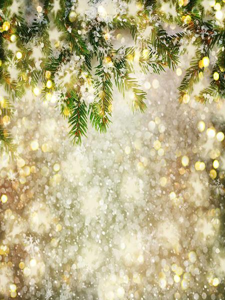 Load image into Gallery viewer, Kate Christmas Theme Backdrop Glitter New Year Photo Background Children