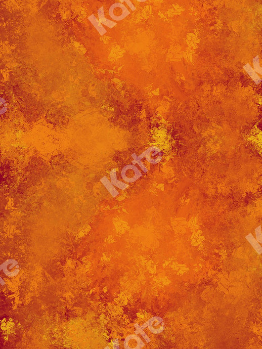 Kate Abstract Orange Autumn Backdrop Texture for Portrait Designed by Jia Chan Photography