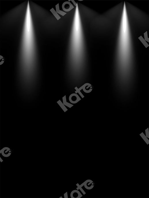 Kate Black Backdrop Stage Light Designed by Chain Photography