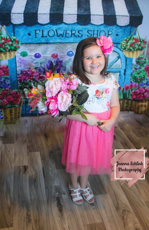Load image into Gallery viewer, Kate Spring Flower Shop Backdrop Designed By Claire