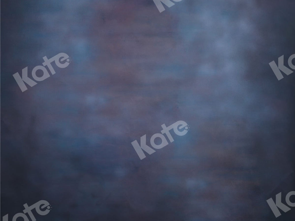 Kate Abstract Backdrop Blue With Liitte Dark Red Designed By JS Photography