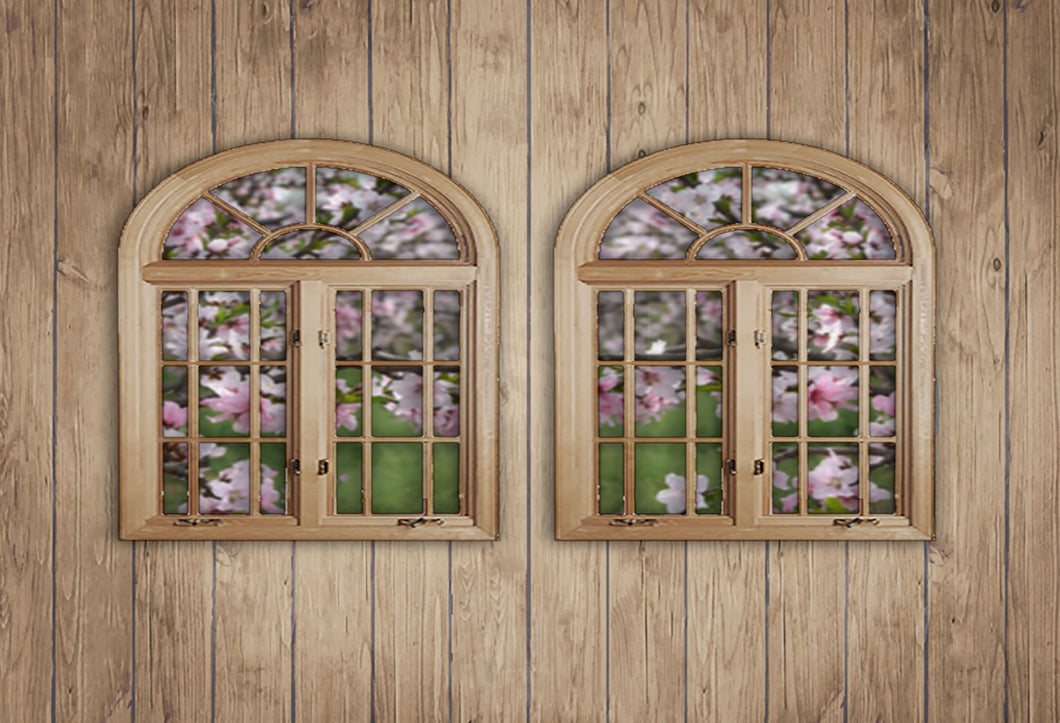 Kate Wooden Windows Backdrops for Photography
