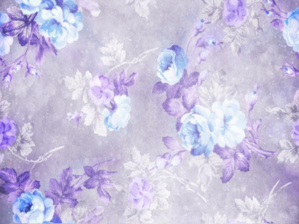 Load image into Gallery viewer, Kate Retro Blurry Bokeh Purple Flowers Backdrop for Photography Designed by JFCC