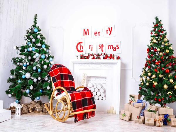 Kate Christmas Tree Gift Decorations Backdrop for Photography