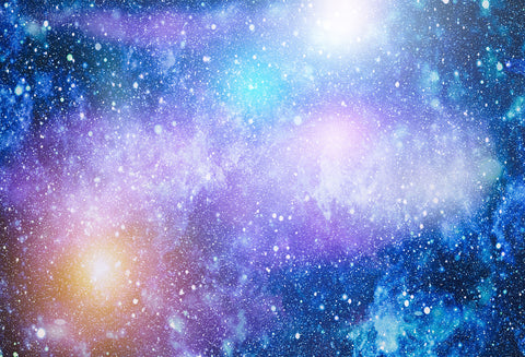 Kate Blue and Purple Galaxy Universe filled with Star Backdrop for Photography - Kate backdrops UK