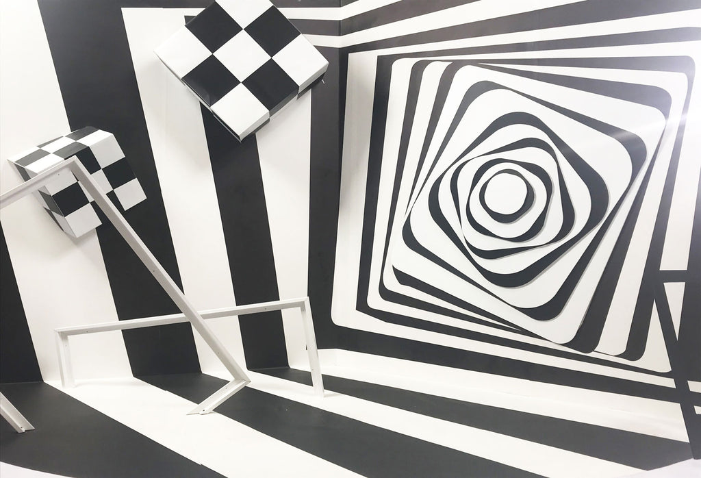 Kate Black and White Spiral backdrops for Photography - Kate backdrops UK
