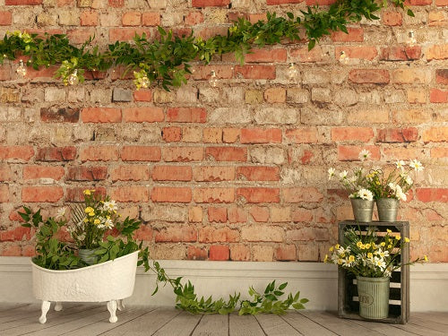 Kate Spring Brick Wall Baby shower Backdrop Designed by Jia Chan Photography