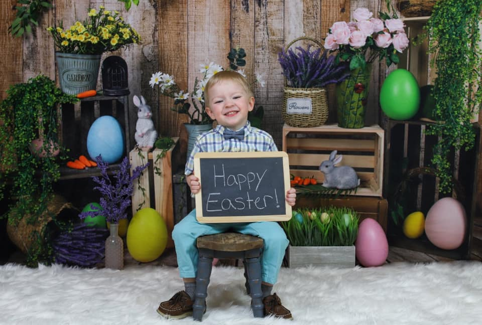 Kate Spring Easter Backdrop Designed by Jia Chan Photography