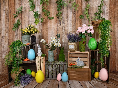 Load image into Gallery viewer, Spring Easter Backdrop