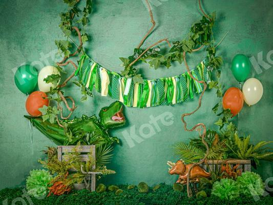 Kate Summer Wild Dinosaur Backdrop Designed by Jia Chan Photography