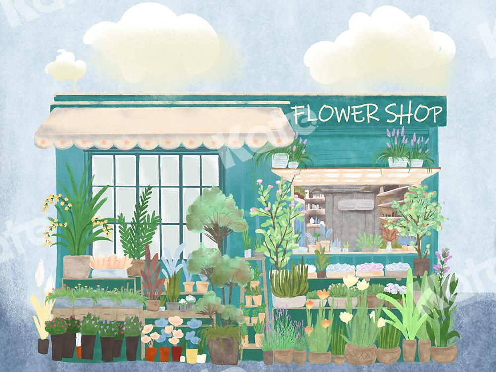 Kate Flower Shop Backdrop Designed by Chain Photography