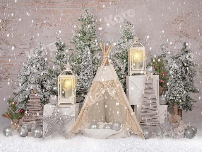 Kate Christmas Trees Tent Backdrop Designed by Emetselch