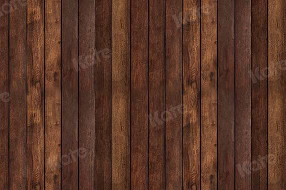Kate Brown Wooden Color Wood Backdrop Designed by Kate Image