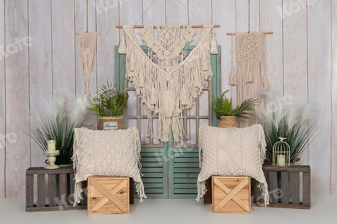 Kate Boho Summer/Mother's Day Door Backdrop Designed by Emetselch