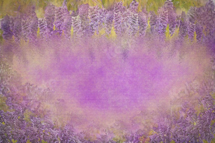 Kate Fine Art Lavender Dreamy Purple Backdrop Designed by Chain Photography