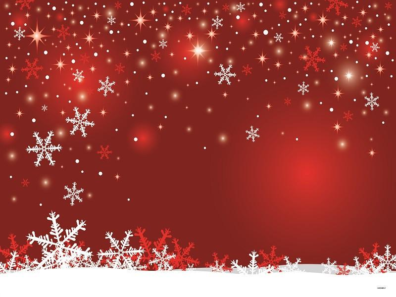 Katebackdrop£ºKate Red Wall Background Snowflake Marry Christmas Backdrops