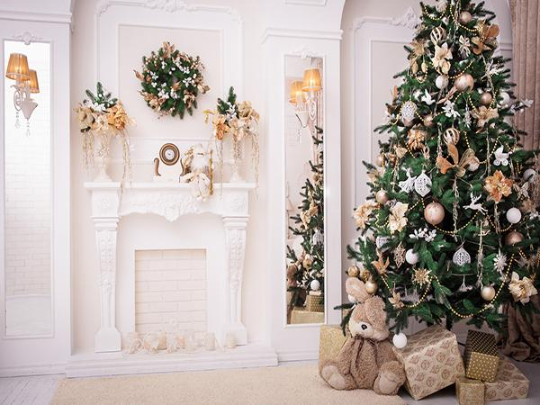 Load image into Gallery viewer, Kate Interior Christmas Tree Decorations Backdrop for Photography - Kate backdrops UK